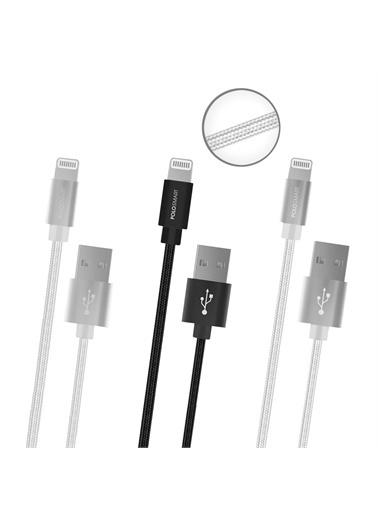 Polo Smart Psm90 3'Lü Lightning Şarj Kablosu Seti 1 M Renkli